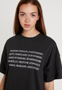 Even&Odd - T-shirt print - anthracite - 4