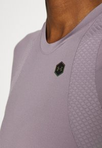 Under Armour - RUSH - T-Shirt print - slate purple - 4