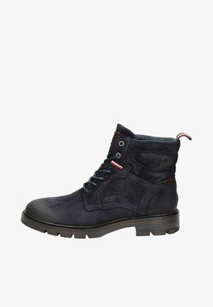 Cowboy/biker ankle boot - blauw