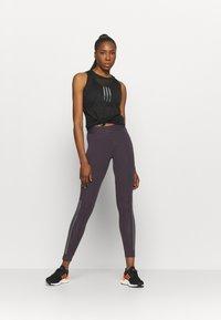 adidas Performance - GLAM - Tights - purple - 1