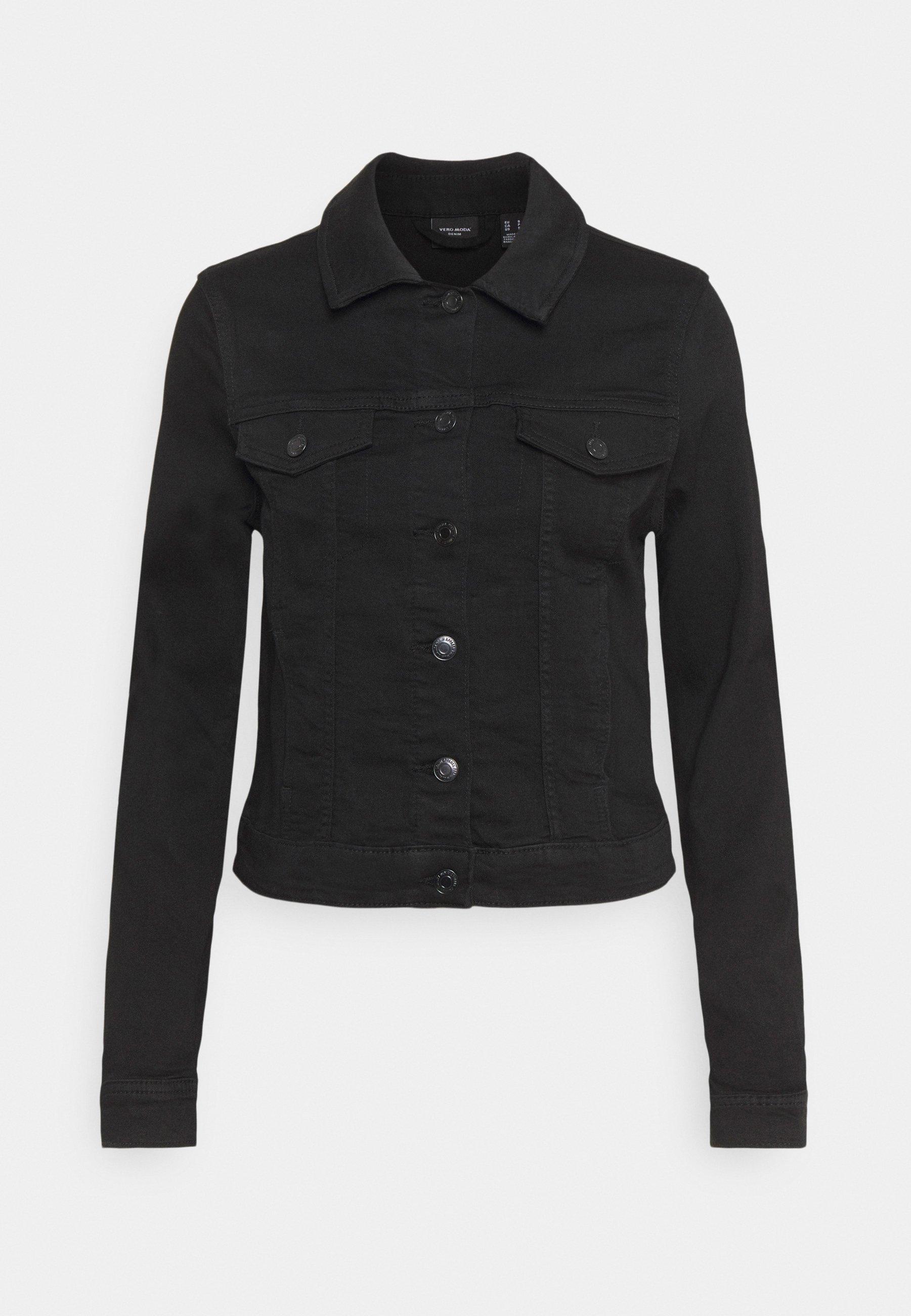 Women VMTINE SLIM JACKET - Denim jacket