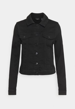 VMTINE SLIM JACKET - Džínová bunda - black denim