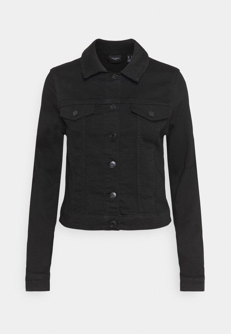Vero Moda - VMTINE SLIM JACKET - Denim jacket - black denim