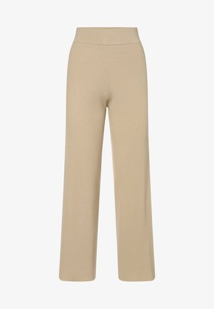 ALLOW - Trousers - sand