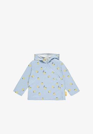 ZITRONEN PRINT - Zip-up sweatshirt - brunnera blue