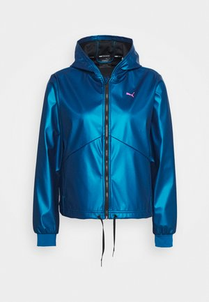 TRAIN WARM UP JACKET - Sportovní bunda - digi blue