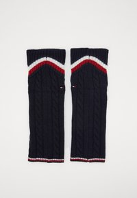 Tommy Hilfiger - LEG WARMERS CABLE - Leg warmers - navy - 0