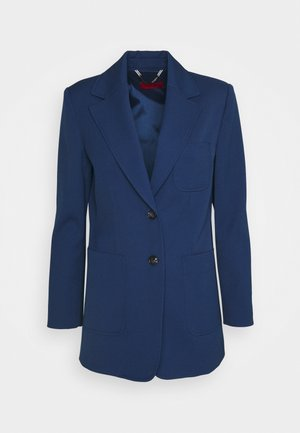 LEMBO - Short coat - navy blue