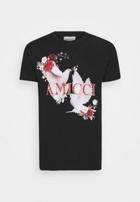 AMICCI - SIRMONE - Print T-shirt - black - 3