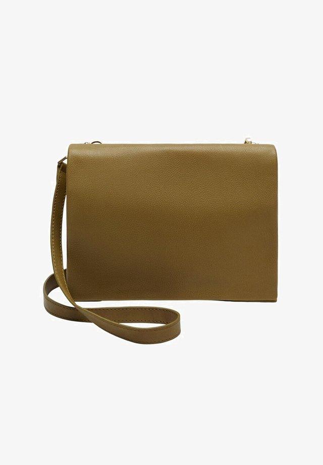 ATENEA - Across body bag - olivengrün