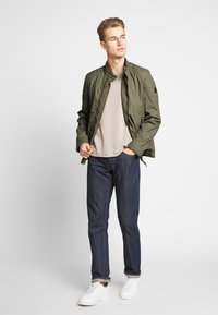 Strellson - ROVIGO STAND UP  COLLAR - Summer jacket - olive - 1