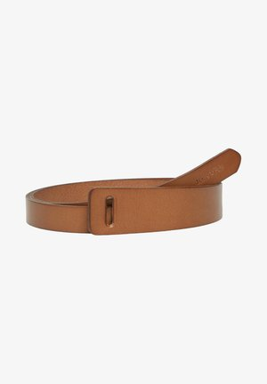 Belt - burnt camel