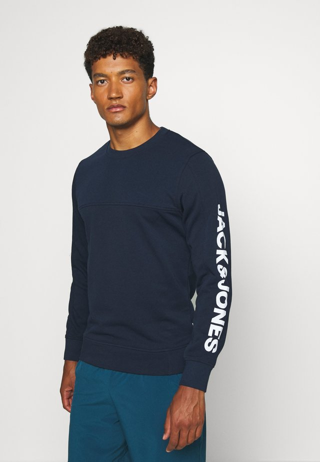 JCOMITCH CREW NECK - Collegepaita - navy blazer