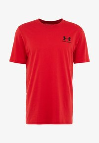 Under Armour - SPORTSTYLE BACK TEE - T-shirts print - red/black - 4