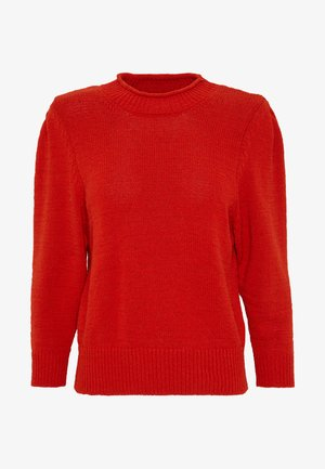 NORE - Strickpullover - metallic red