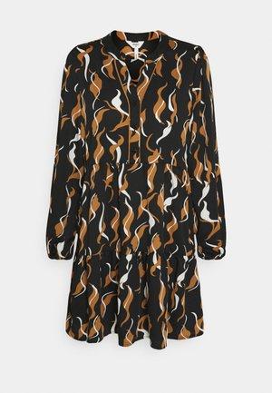 OBJHELENA DRESS - Freizeitkleid - black