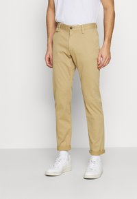 s.Oliver - Trousers - beige - 0
