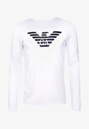 Camiseta de manga larga - bianco ottico