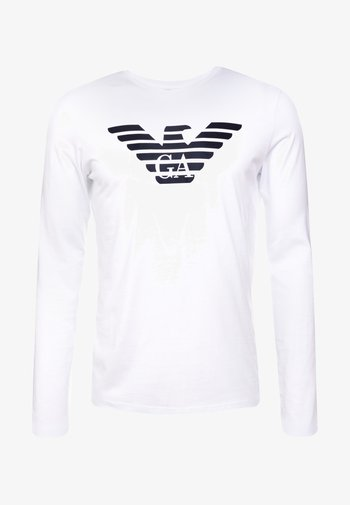 Long sleeved top - bianco ottico