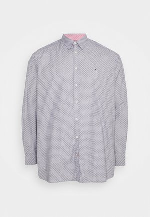 DOTTED SQUARE PRINT - Skjorta - yale navy