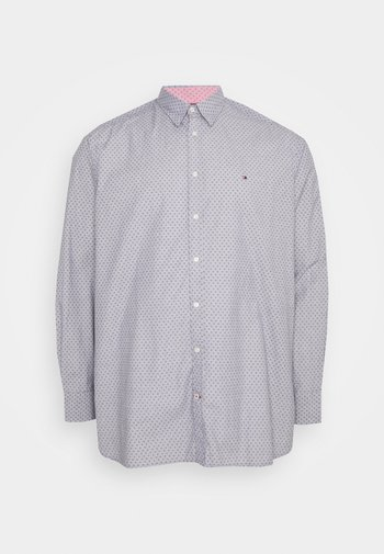 DOTTED SQUARE PRINT - Shirt - yale navy