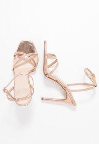 RAID - ANNIE - High heeled sandals - rose gold - 3