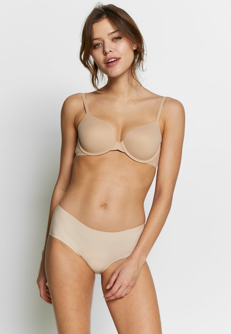 Schiesser - INVISIBLE 2 PACK - Slip - nude