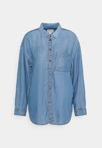 CORE BUTTONDOWN - Button-down blouse - blue