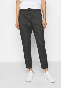 Q/S designed by - Trousers - dark grey - 0