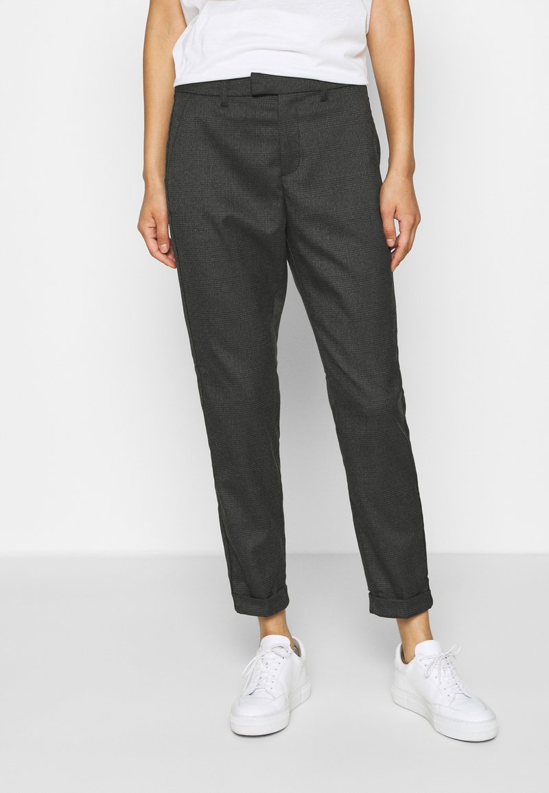 Q/S designed by - Trousers - dark grey