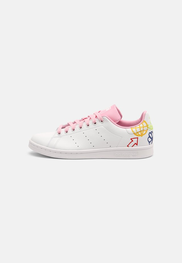 STAN SMITH - Sneakers basse - white/true pink