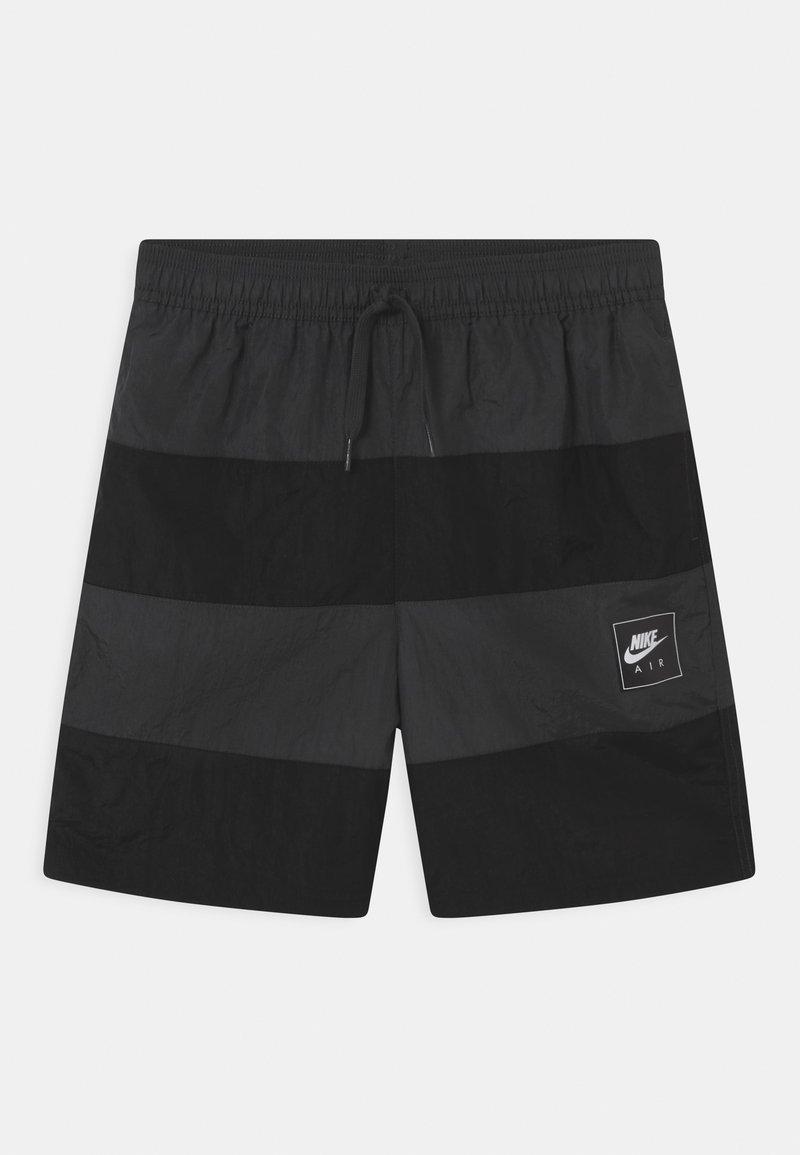 Nike Sportswear - AIR - Shorts - black/dark smoke grey