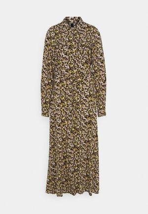 YASNULA LONG DRESS - Skjortekjole - black