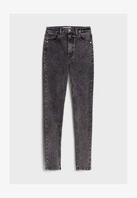 Bershka - MIT SEHR HOHEM BUND  - Jeans Skinny Fit - grey - 5