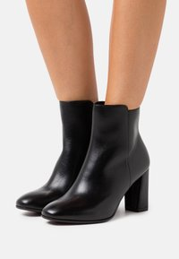 Tamaris Heart & Sole - BOOTS - High heeled ankle boots - black - 0
