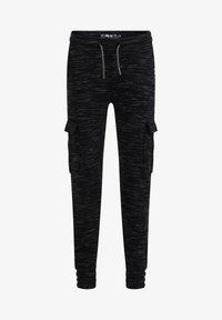 WE Fashion - Cargo trousers - black - 2