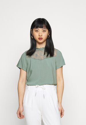 ONLFIRST TOP  - Blouse - chinois green