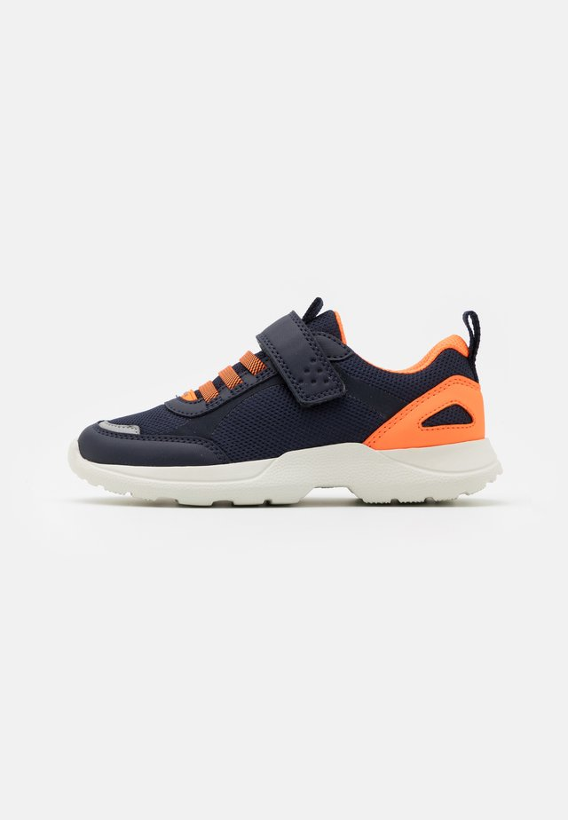 RUSH - Sneakers - blau/orange