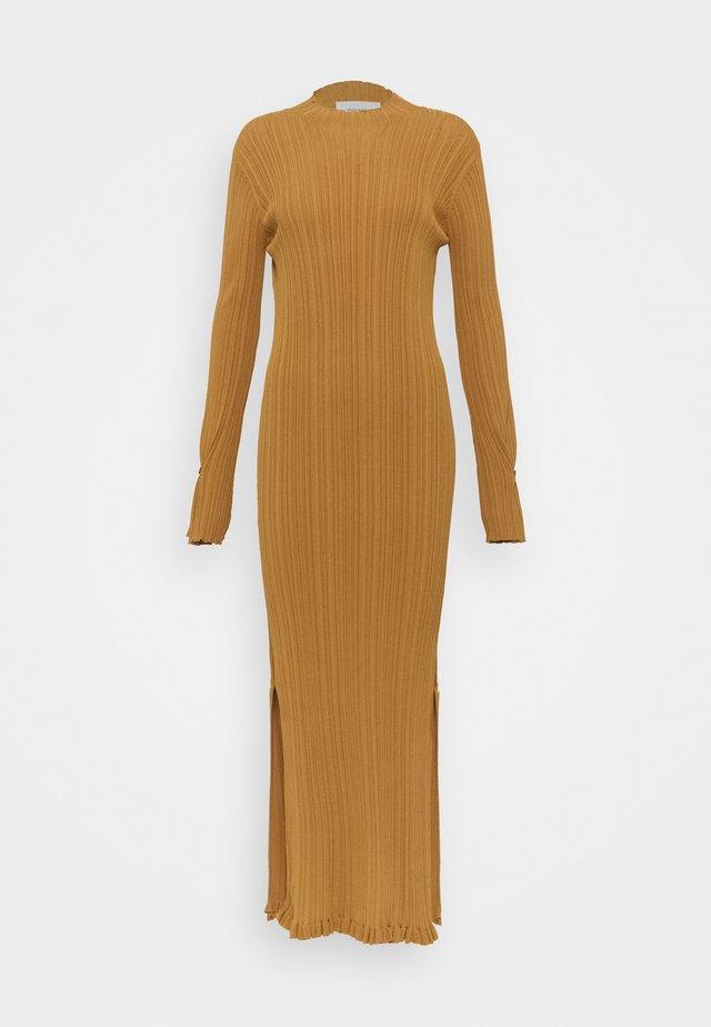 HADELAND DRESS - Robe pull - light brown