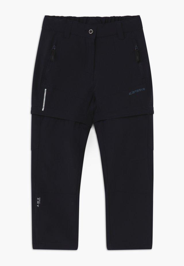 KANO 2-IN-1 - Długie spodnie trekkingowe - blue