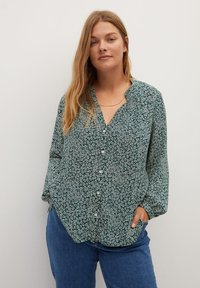 Violeta by Mango - CORTESAN - Blouse - groen - 0