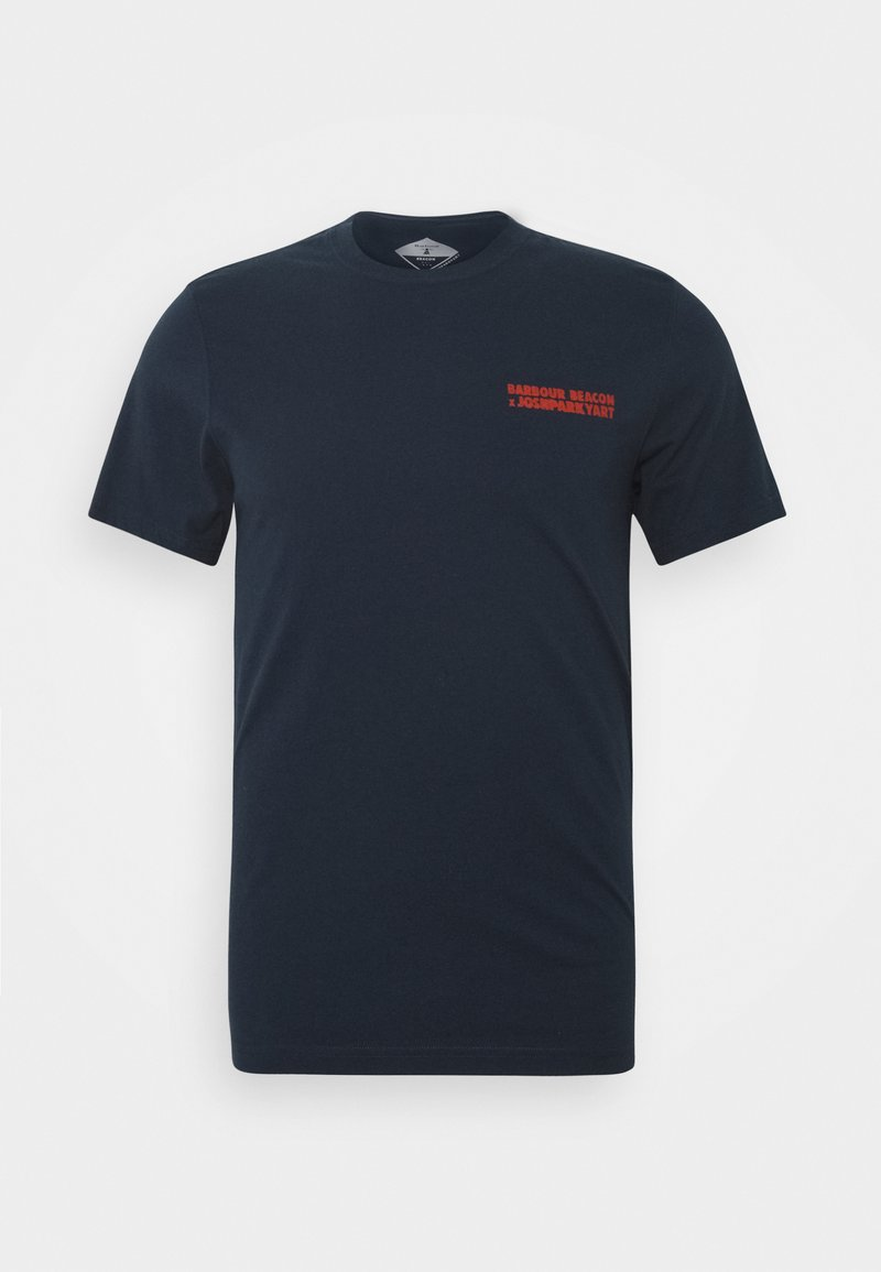 Barbour Beacon - PARKYART TEE - T-shirt con stampa - navy
