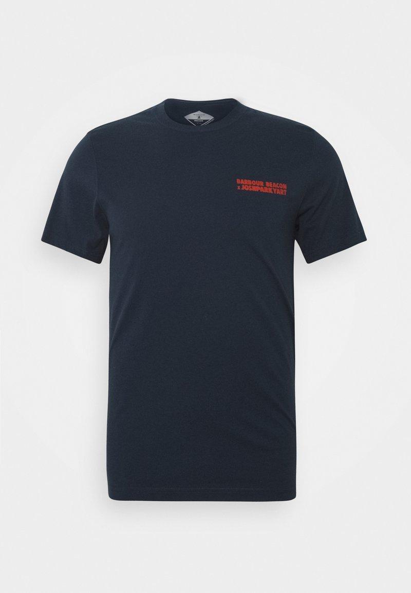 Barbour Beacon - PARKYART TEE - T-shirt med print - navy