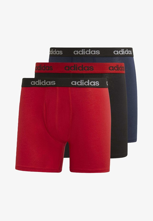 BRIEFS 3 PAIRS - Pants - red