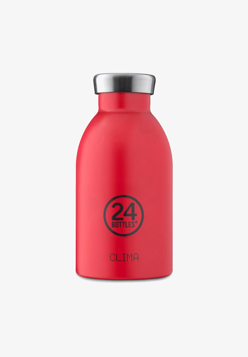 24Bottles - TRINKFLASCHE CLIMA BOTTLE FLORAL HOT RED - Autres accessoires - hot red