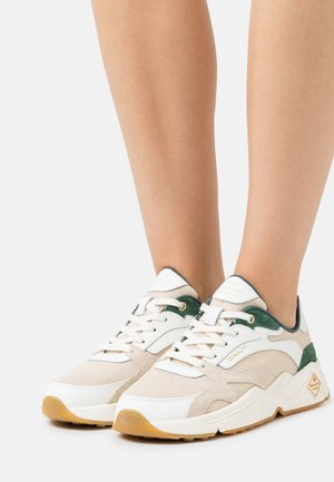 NICEWILL - Trainers - white/green