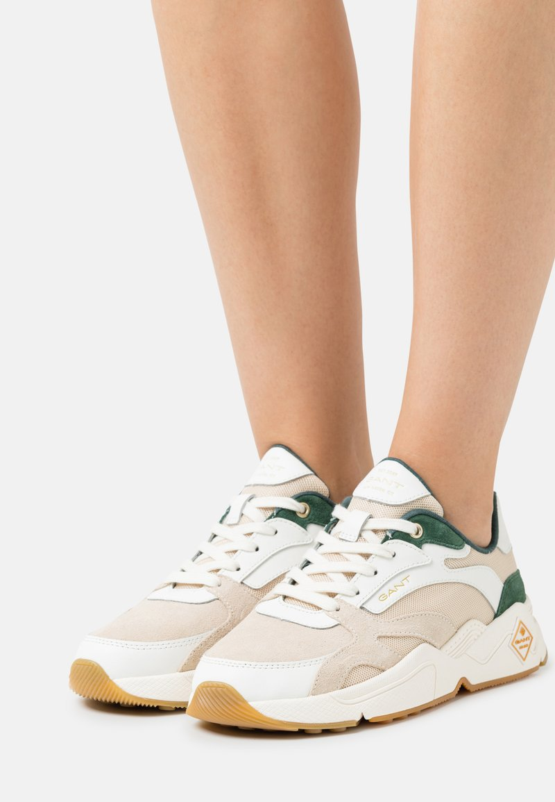 GANT - NICEWILL - Sneakers laag - white/green