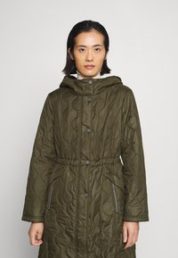 comma casual identity - Classic coat - khaki - 0