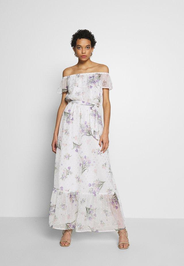 PRINT DRESS - Maxi dress - ivory