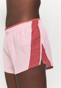 Nike Performance - 10K SHORT - Sports shorts - pink glaze/canyon rust/wolf grey - 3